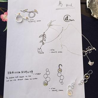 Bird & Tree Necklace 5
