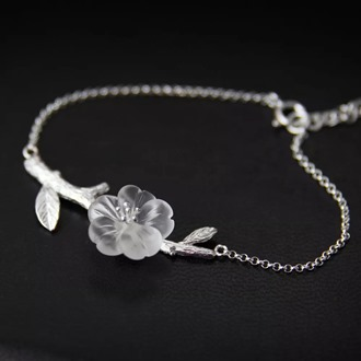 Crystal Skeleton Flower Bracelet 4.docx