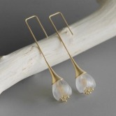 Lily of the Vally Earring ( Gold ) 2