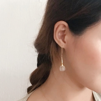 Lily of the Vally Earring ( Gold ) 3