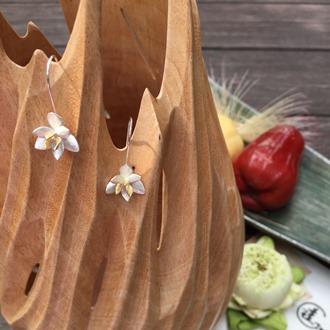 Orchid Earring 1